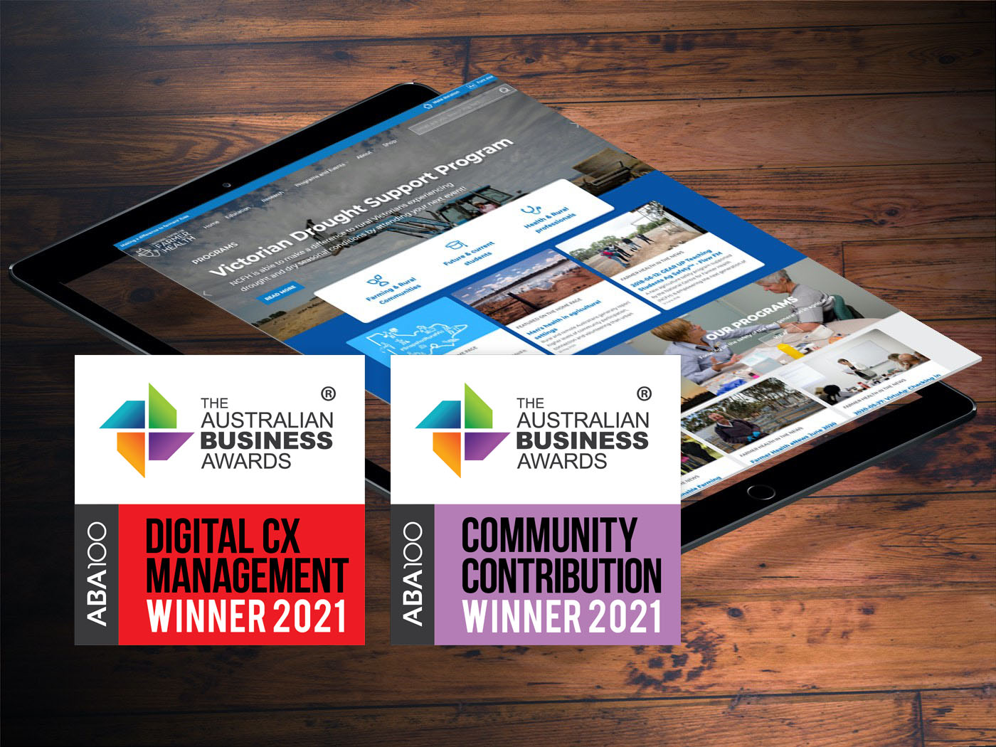 Feature image for Digital CX Management and Community Contribution Winner 2021